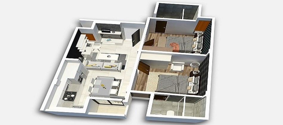 2 Bedrooms, Apartment, Sold, ISLES RESIDENCE 2, Dheefram Goalhi, 2 Bathrooms, Listing ID 1183, Male\' City, Maldives,